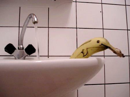 Banana-delfin