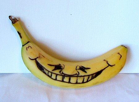 La gran sonrisa de la banana