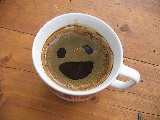 Smiley cafetero