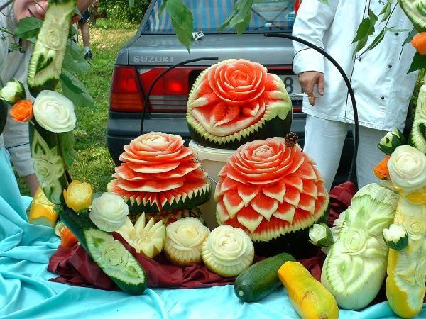 Arte con vegetales