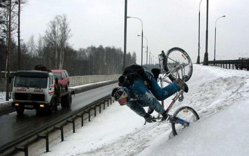 Ciclismo en la nieve