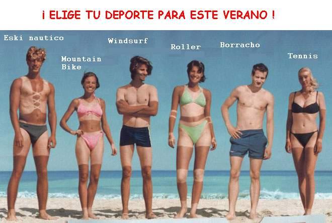 Elige deporte para el verano
