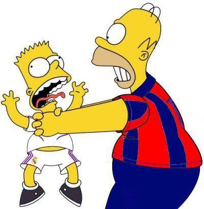 Simpsons futboleros