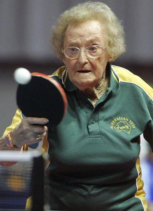 Instantanea de ping pong