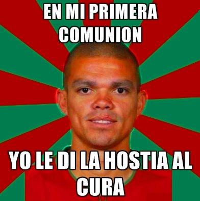 La primera comunion de Pepe