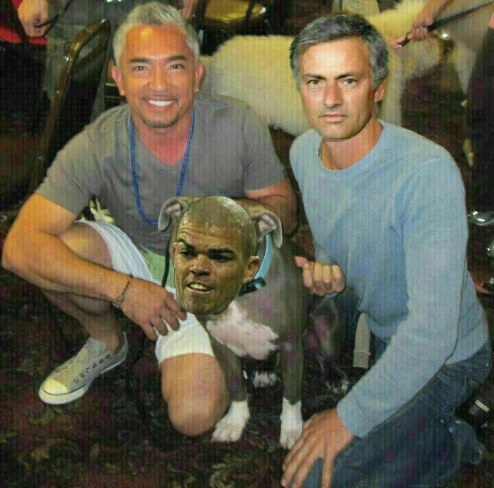 Mourinho Pepe y el Encantador de perros
