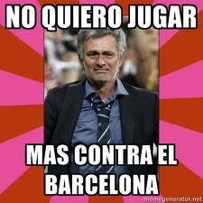 Mourinho no quiere jugar