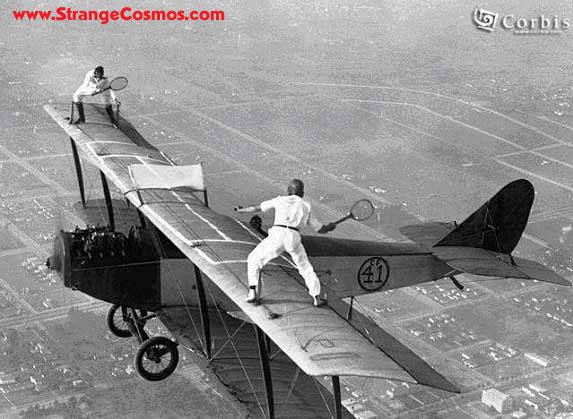 Tenis arriesgado