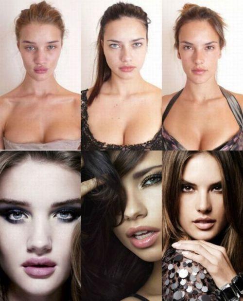 Antes y despues - Tres chicas