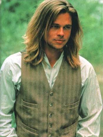 Brad Pitt melenudo