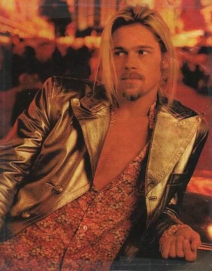 Brad Pitt melenudo 2