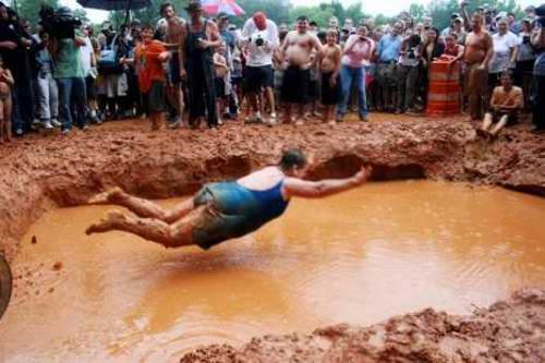Nadar en fango 4