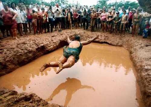 Nadar en fango 6