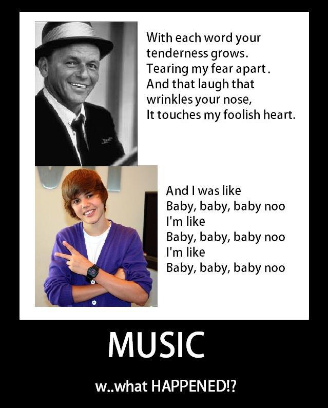 Que ha pasado con la musica