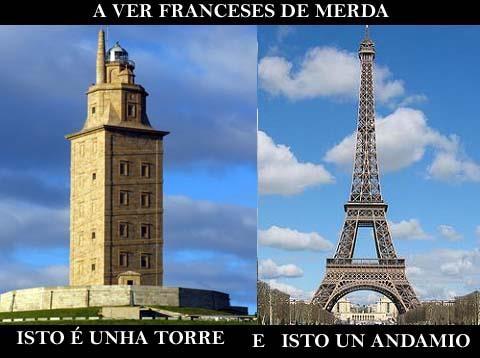 Torre y andamio
