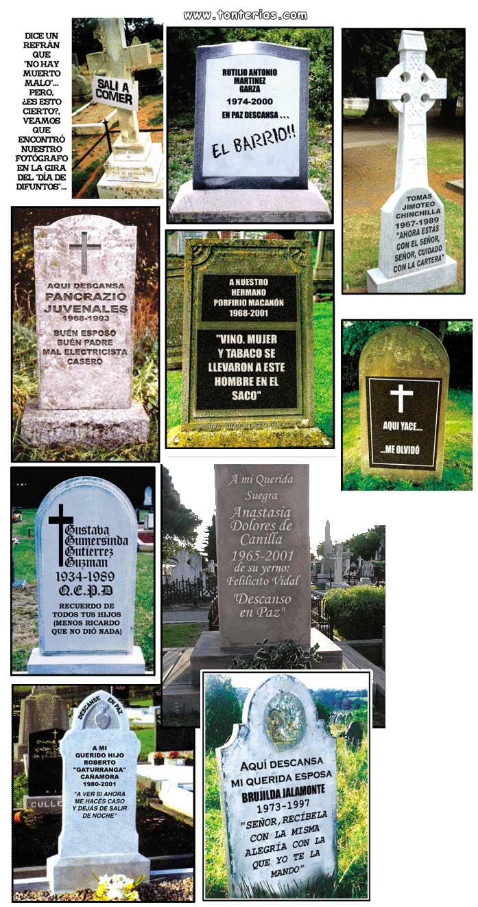 Lapidas tumbas