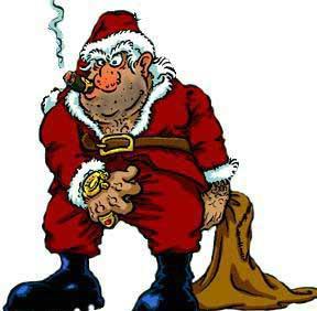 Papa Noel delincuente