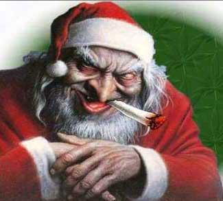 Papa Noel porreta