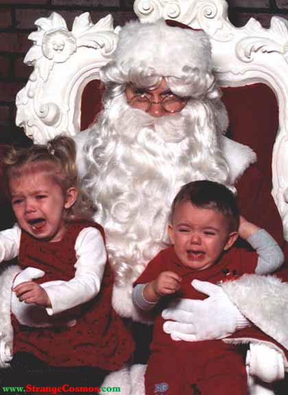 Temor a Papa Noel