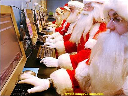 papa Noel en el cyber