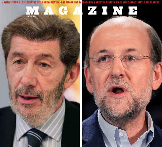 Mariano Rubalcaba y Alfredo Rajoy