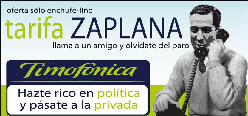 Timofonica - Tarifa Zaplana