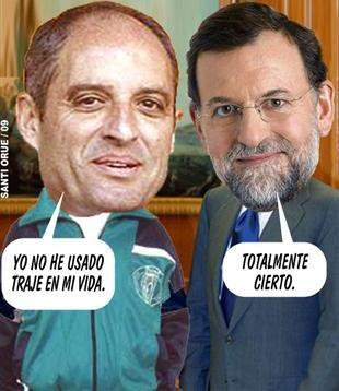 Camps y Rajoy