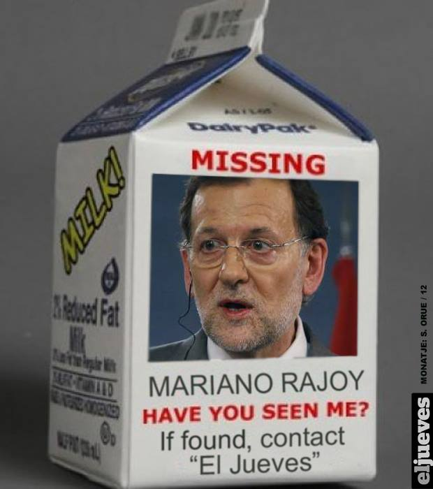 Mariano is missing