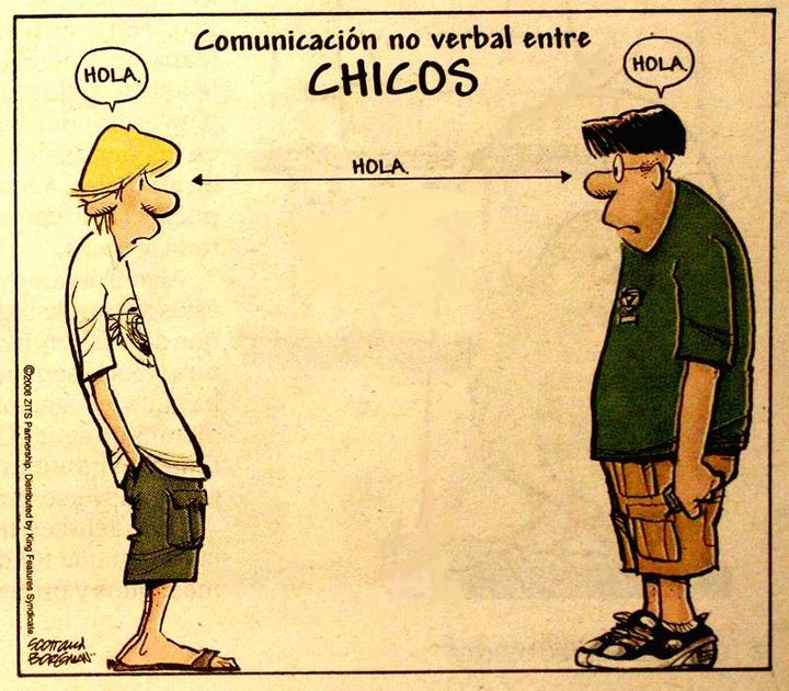 Comunicacion no verbal entre chicos