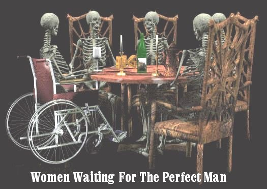 Mujeres esperando al hombre perfecto