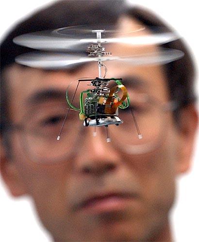 Mini helicoptero