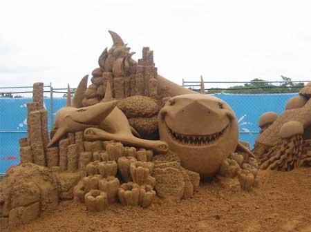 Tiburones de arena