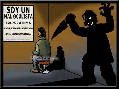 Oculista asesino