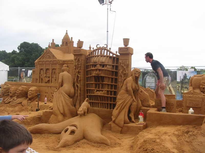 castillo de arena espectacular